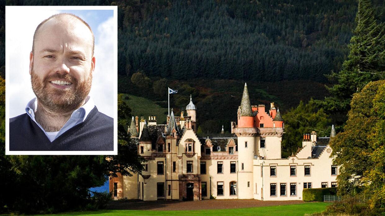 Anders Holch Povlsen ejer blandt andet Aldourie Castle (billedet) i det skotske.