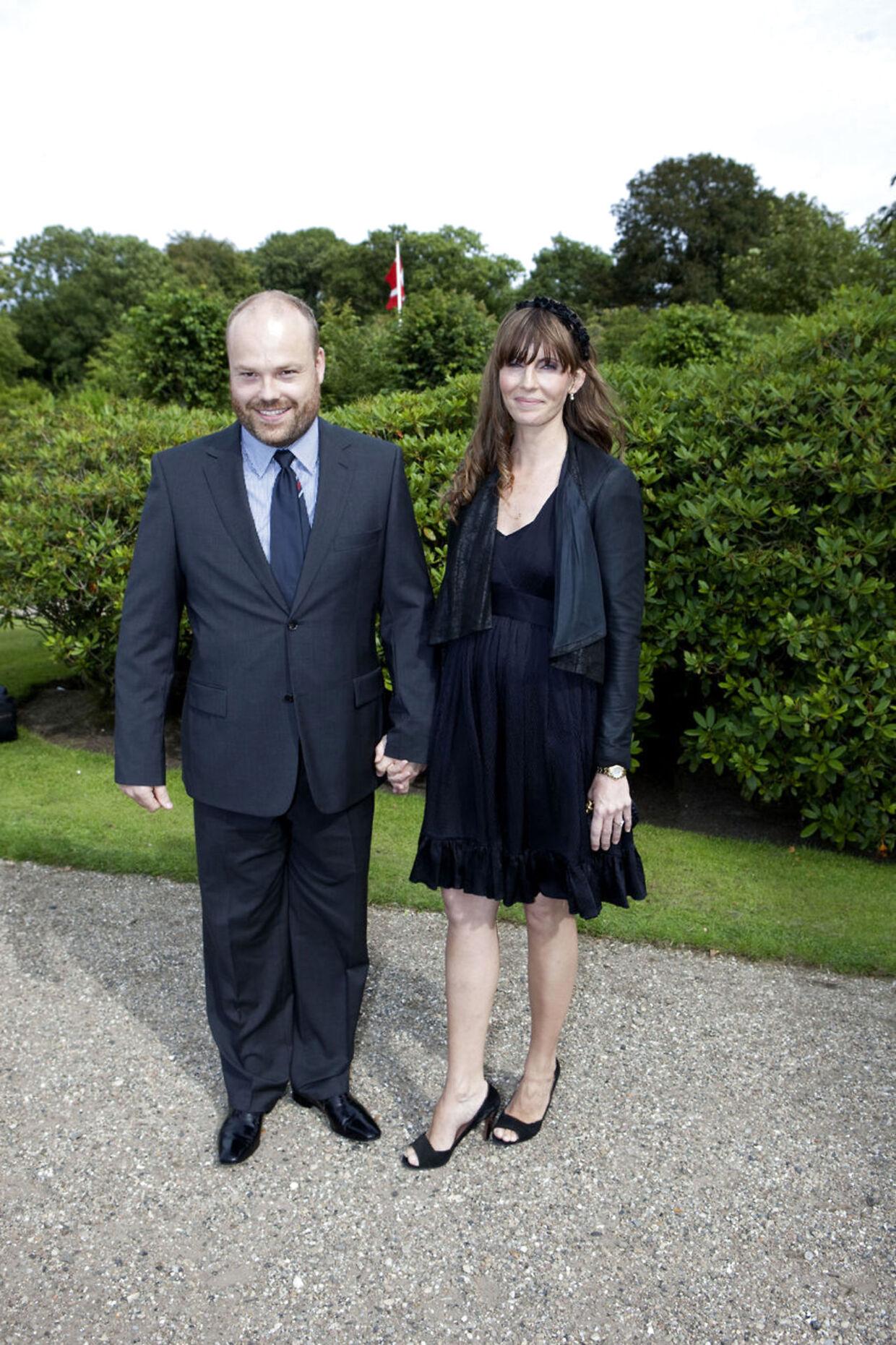 Anders Holch Povlsen ses her med sin kone Anne Storm Pedersen.