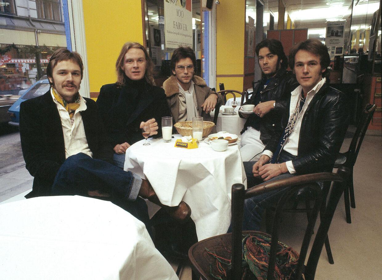 Her ses C.V. Jørgensen, Rene Wulff, Erik Falck, Ivan Horn og Thomas Grue
