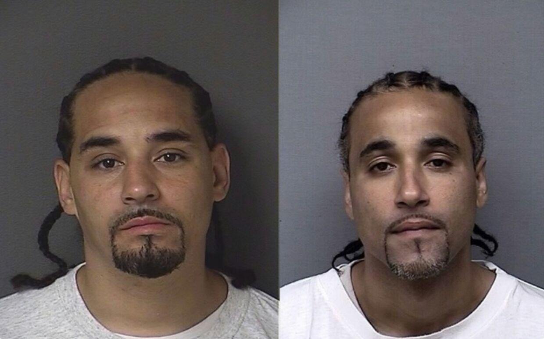 Richard Anthony Johnson (til højre) blev frifundet, fordi efterforskere fandt hans lookalike (til venstre). Foto: Kansas City Police Department