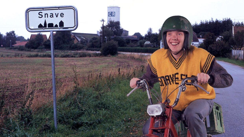 Polle fra Snave. spillet af Jens Andersen, blev en kult-figur i begyndelsen af det nye årtusinde. Arkivfoto