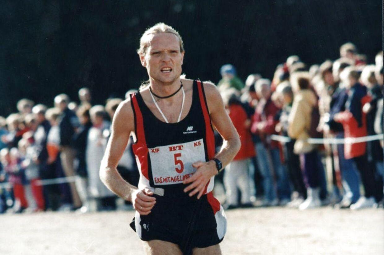 Henrik Jørgensen er en rollemodel i dansk atletik og ambassadør for Eremitageløbet. Løbet i Dyrehaven gav en 13-årig Henrik svar på, at hans fremtid lå på langdistancen. Foto: Scanpix
