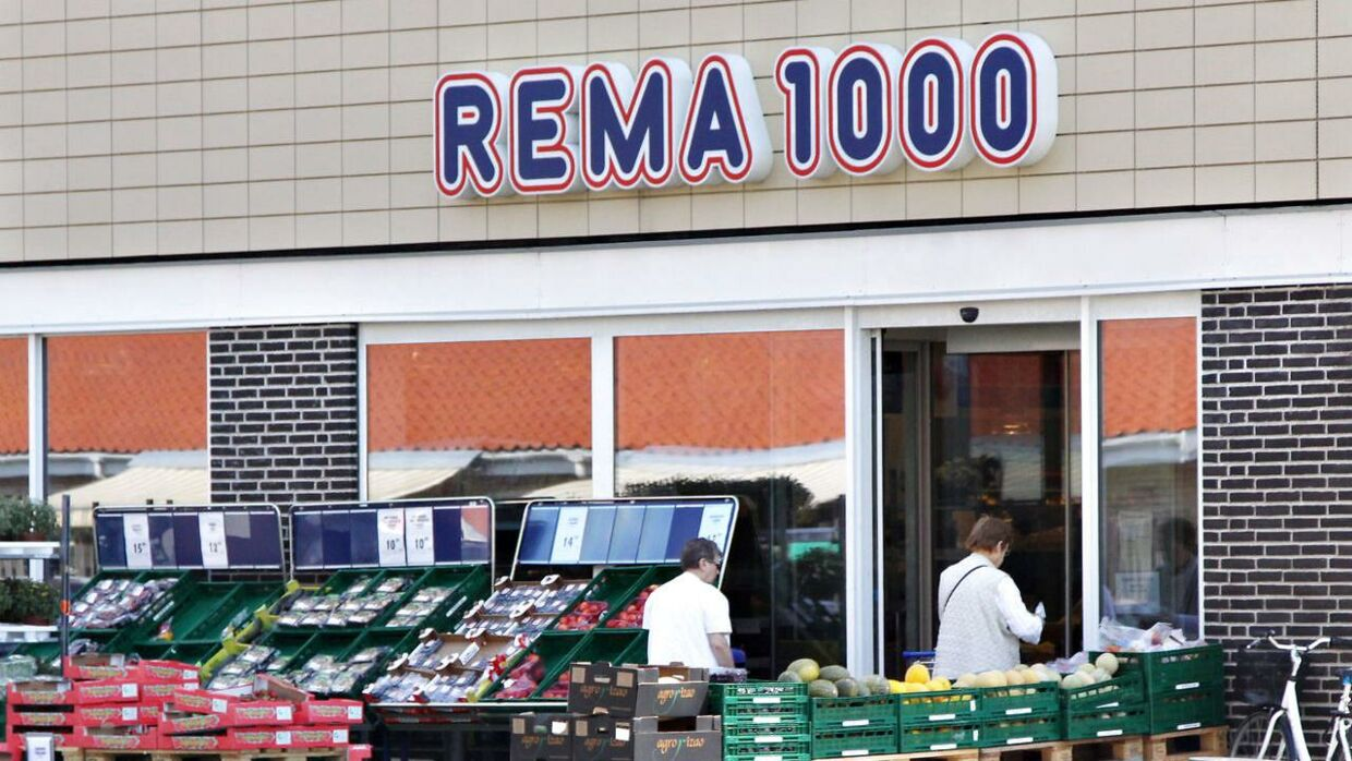 Rema 1000 supermarked.