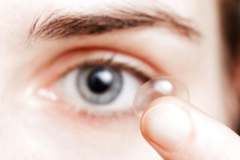 irriteret øje kontaktlinser