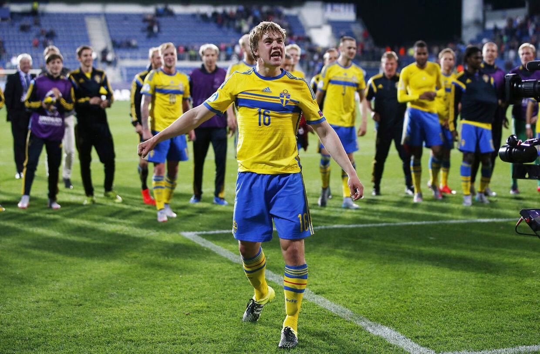 Brøndby skal frem med læderet, hvis drømmen om Tibbling skal realiseres. Action Images via Reuters / Lee Smith Livepic EDITORIAL USE ONLY.