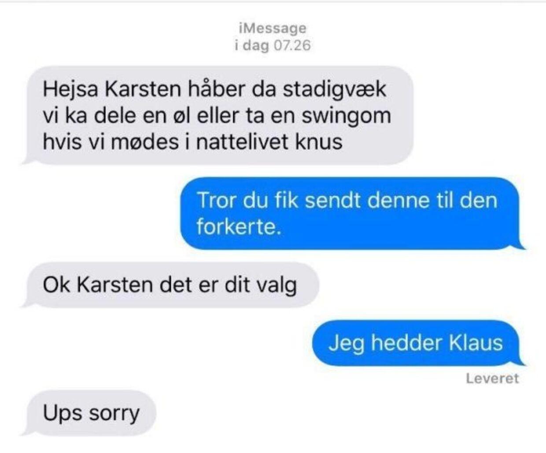 Jeg hedder Klaus.