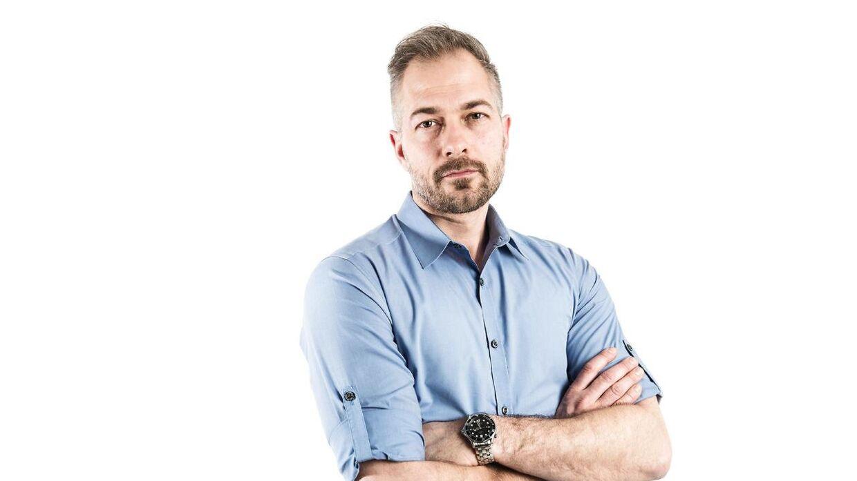 Chefredaktør for BT, Jonas Rathje.