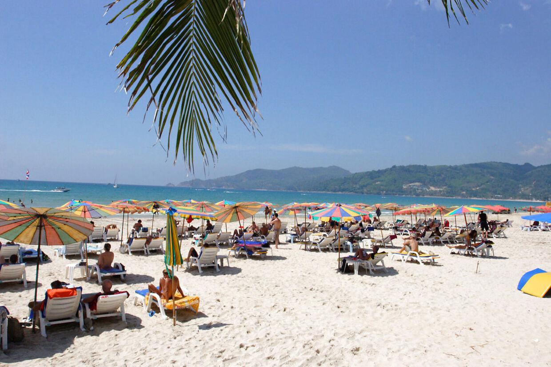Her ses Patong Beach i Phuket (arkivfoto).