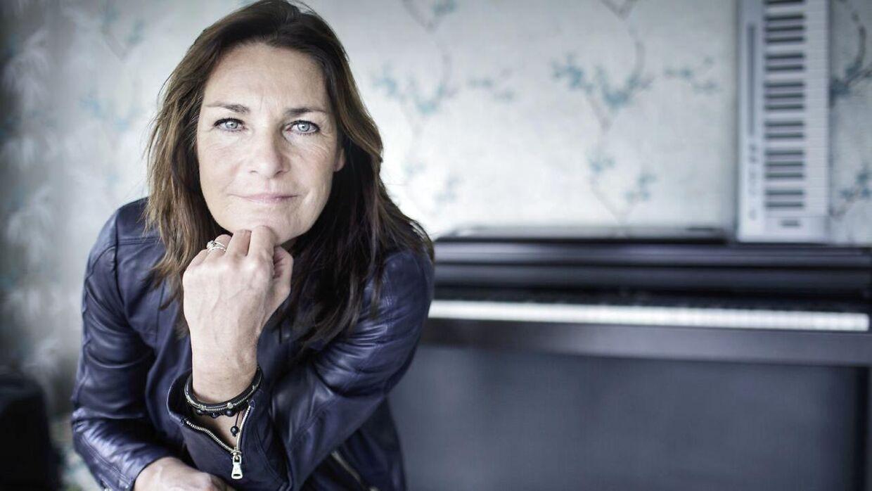 Musiker Lis Sørensen. Fotograferet ved hendes hjem.