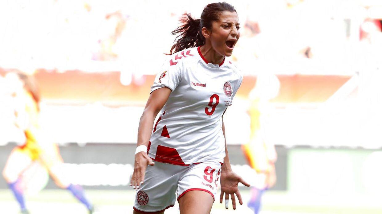 Nadia Nadim, fodboldspiller på danmarks kvindelandshold