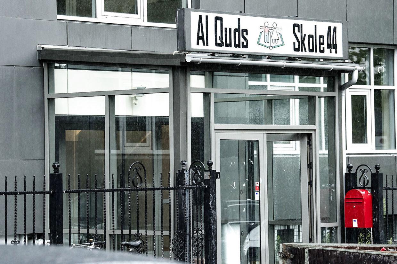 Her ses Al Quds Skole