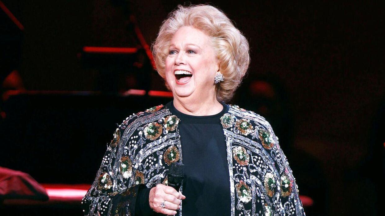 Barbara Cook tilbragte en stor del af sit liv på en scene foran et publikum. Billedet her er fra 2011.