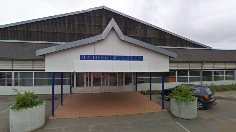 Hældagerskolen i Vejle er en af de skoler, der har indført fuldt mobilforbud - også i frikvartererne.