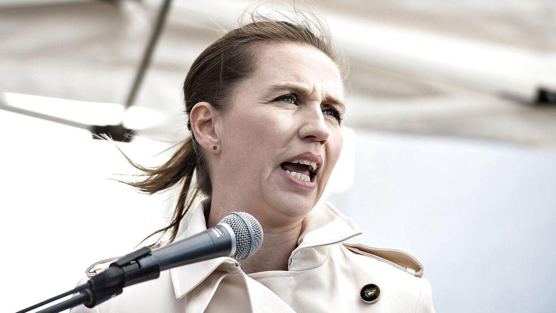 Socialdemokratiets formand Mette Frederiksen vil lukke alle muslimske friskoler i Danmark.