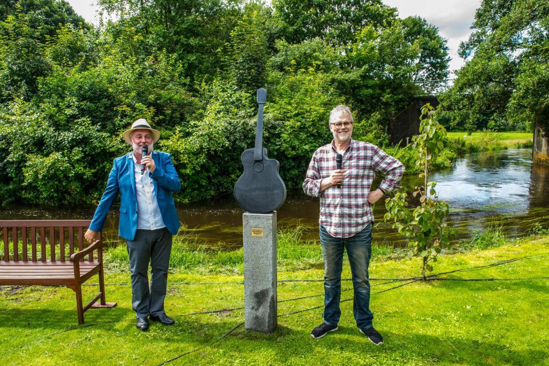 Ny skulptur i Mariehaven. Billetsalget til næste års 'Sommersang i Mariehaven'-festival starter 1. september