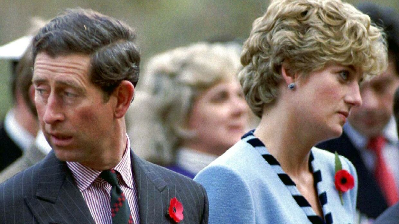 Prinsesse Diana og prins Charles i 1992.