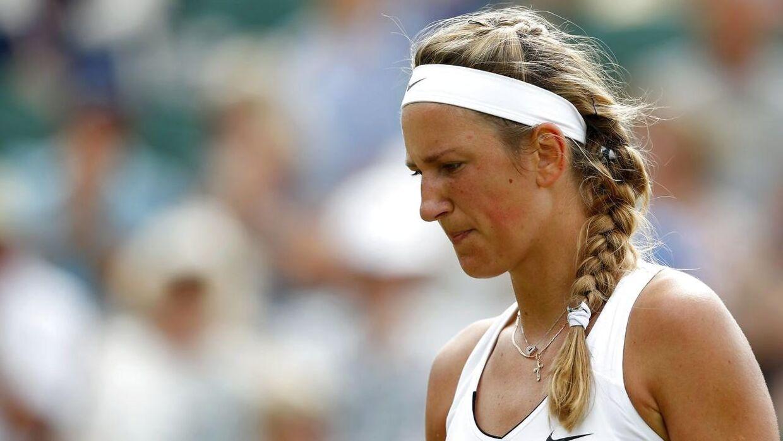 Victoria Azarenka fra Hviderusland har andet end tennis at tænke på for tiden.
