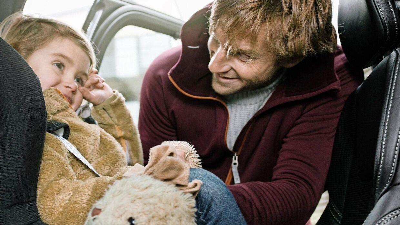 Vi sætter vores børns sikkerhed i højsædet i mange af livets sammenhænge, og skulle vi handle bil efter den ledestjerne, skulle vi vælge fra toppen af listen her på siden. Foto: Volvo PR