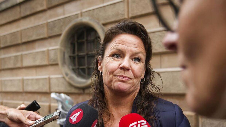 Advokat Betina Hald Engmark er forsvarer for u-bådskaptajn Peter Madsen, som er sigtet for både drab og uagtsomt manddrab på en svensk kvindelig journalist. (Foto: Jens Astrup/Scanpix 2017)