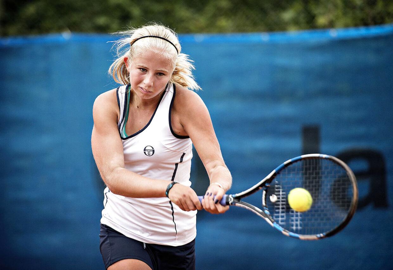 Det 14-årige tennistalent Clara Tauson tager i slutningen af måneden til New York for at deltage i US Open