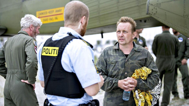 Peter Madsen blev anholdt, da han kom i land dagen efter, at han sammen med Kim Wall var sejlet ud i Køge Bugt.
