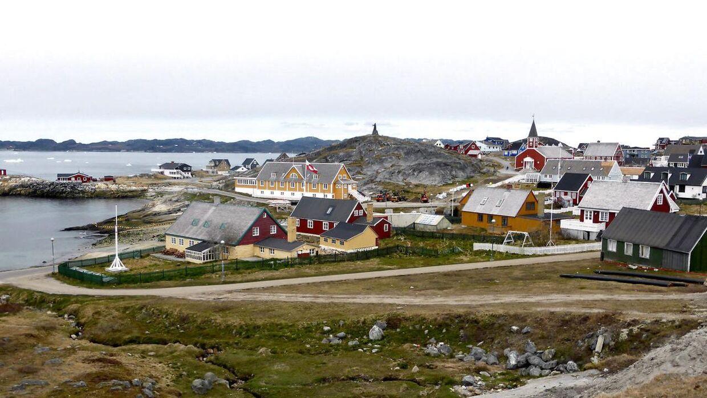 Arkivfoto Nuuk.