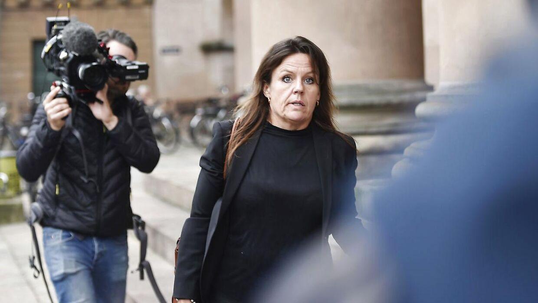 Forsvarsadvokat Betina Hald Engmark, som er forsvarer for Peter Madsen foran Københavns byret.
