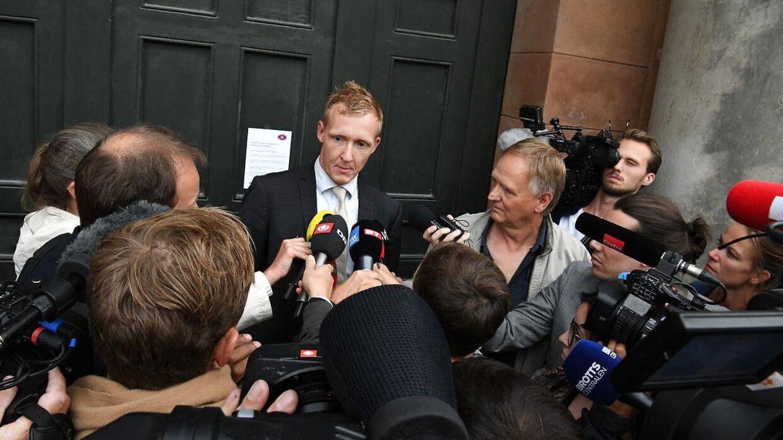 Anklager Jakob Buch-Jepsen foran Københavns Byret tirsdag.