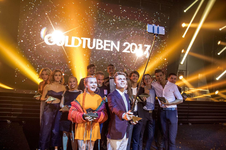 Reportage fra Guldtuben 2017. Alle vinderne
