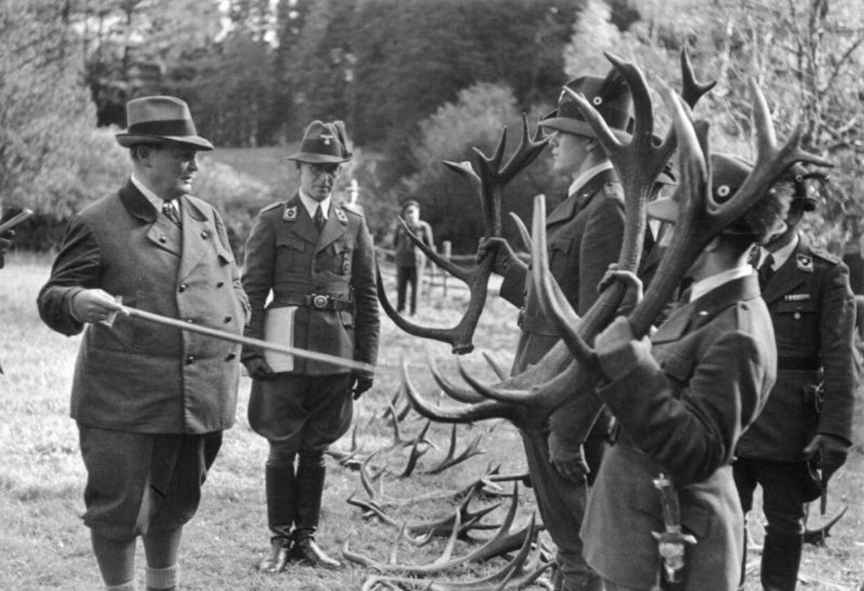 Hitlers næstkommanderende Hermann Göring - som elskede at gå på jagt - var utrolig aktiv i sin opbakning og støtte til nazisternes projekt urokse.