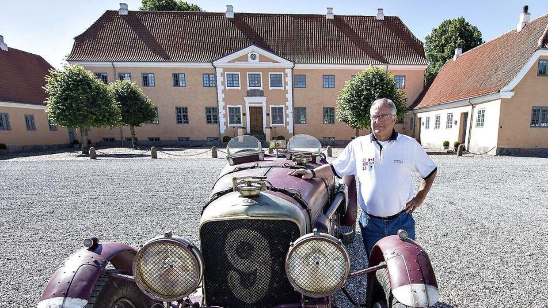 Henrik Frederiksen har netop fået solgt sig gods Lyngsbækgaard på Djursland.