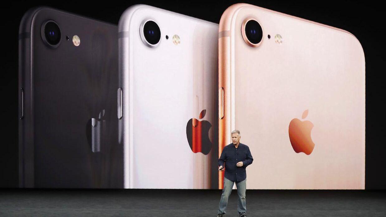 På billedet: Den nye iPhone 8.