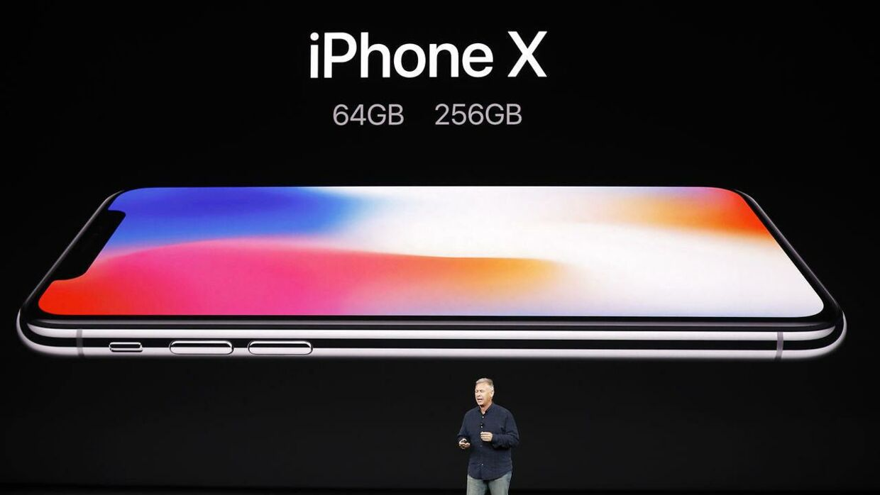 Apples nyeste skud på iPhone-stammen: iPhone X.