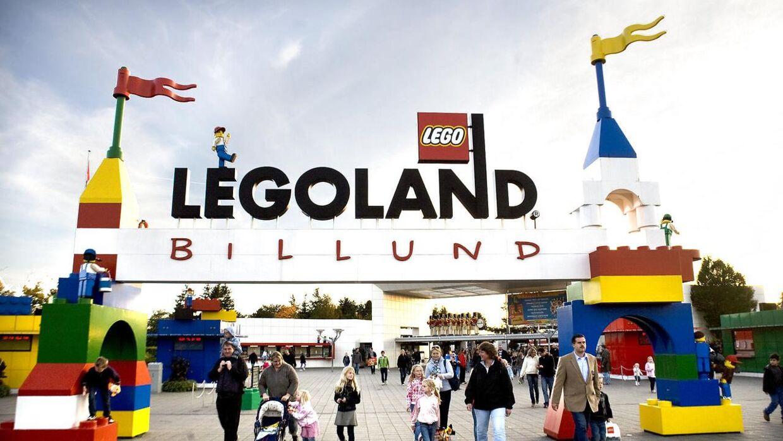 Legoland i Billund.