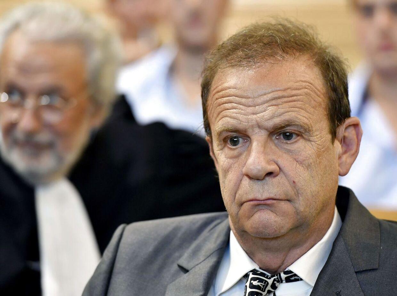 Husvennen Francois-Marie Banier under retssagen mod ham.