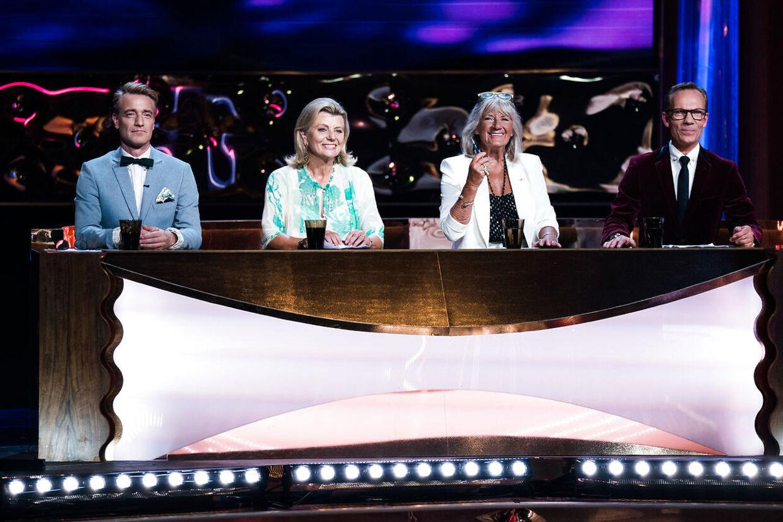 De fire dommere i 'Vild med dans'.