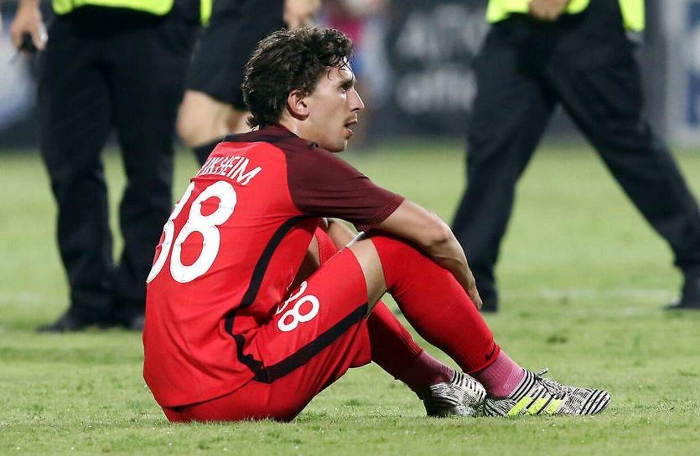 Gustav Wikheim er ikke med i FC Midtjyllands startopstilling i aftenens Superliga-kamp mod AGF.