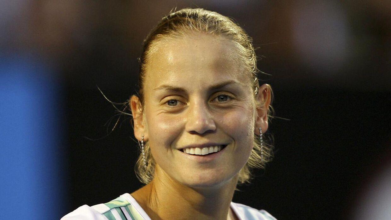 Jelena Dokic som man husker hende fra de aktive tennisår.