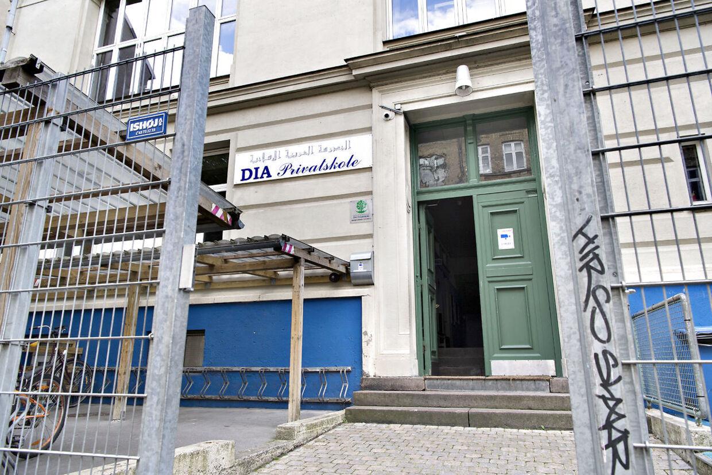 DIA Privatskole på Sankt Hans Gade 25, Nørrebro, København.