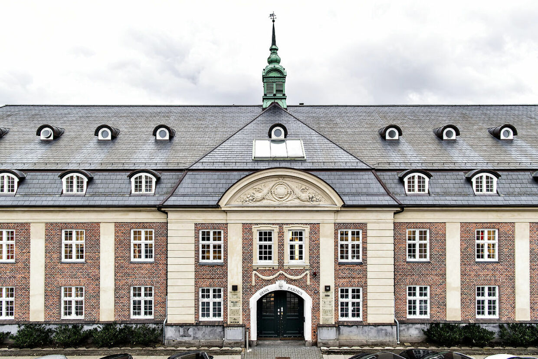 Det var bag denne bygning på adressen Lindgreens Alle 12 i København, at Anna Mee Allerslev holdt sin 30 års fødsesldag. (Foto: Bax Lindhardt/ Scanpix)