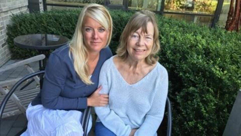 Pernille Vermunds mor fik et halvt år længere hjemme inden hun kom på plejehjem pga. cannabispillerne. Foto: Andreas Karker