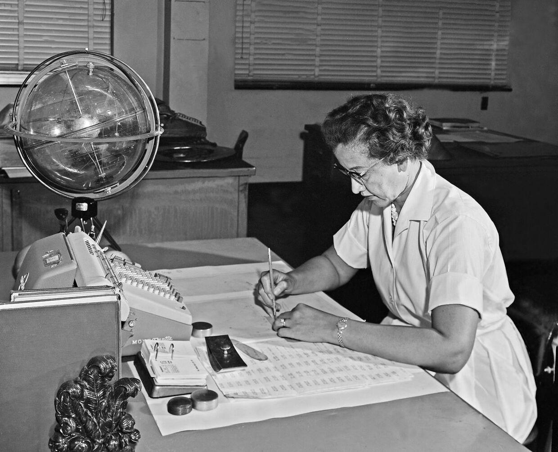 Matematikeren Kathrine Johnson er en af de mange kvinder, der også blev glemt i historiebøgerne.