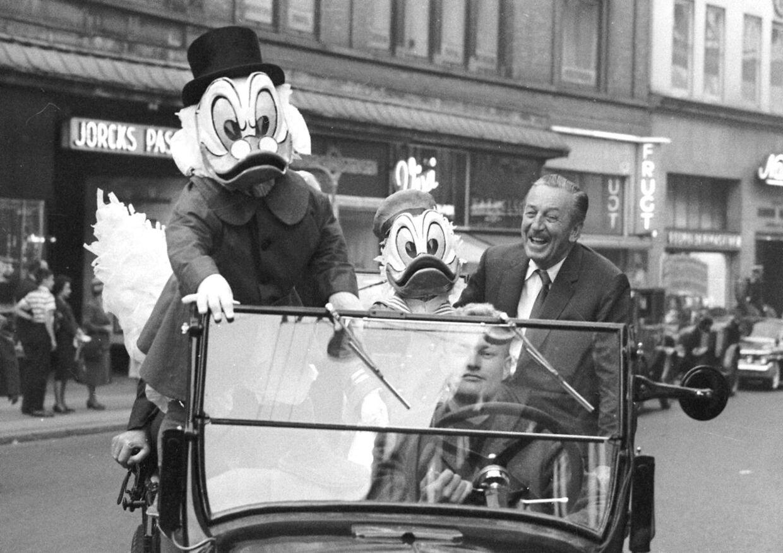 Walt Disney på besøg i Købehavn, som han elskede højt. Ikke mindst Tivoli, der inspirerede ham til at åbne Disney temaparker.