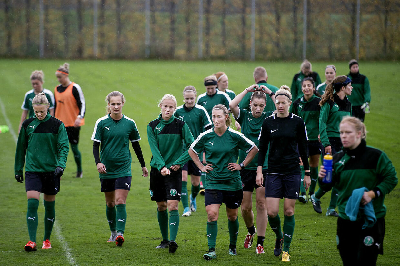 Kvindelandsholdet træner igen i Dragør.