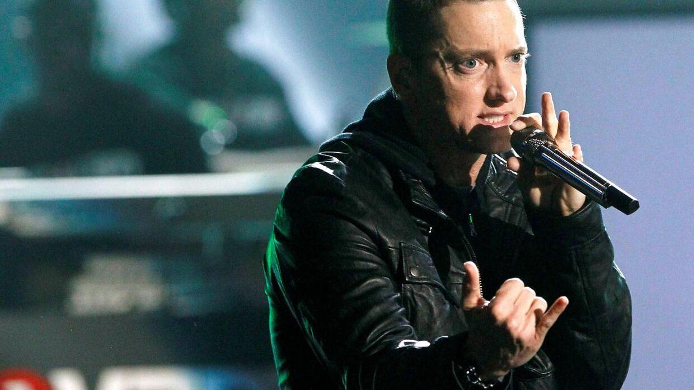 Eminem under en optræden i 2010.