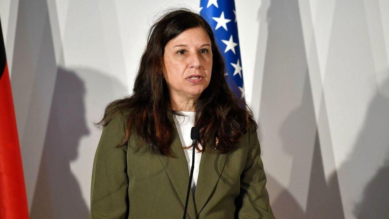 Elaine Duke, agerende minister for national sikkerhed i USA/ AFP PHOTO / Andreas SOLARO