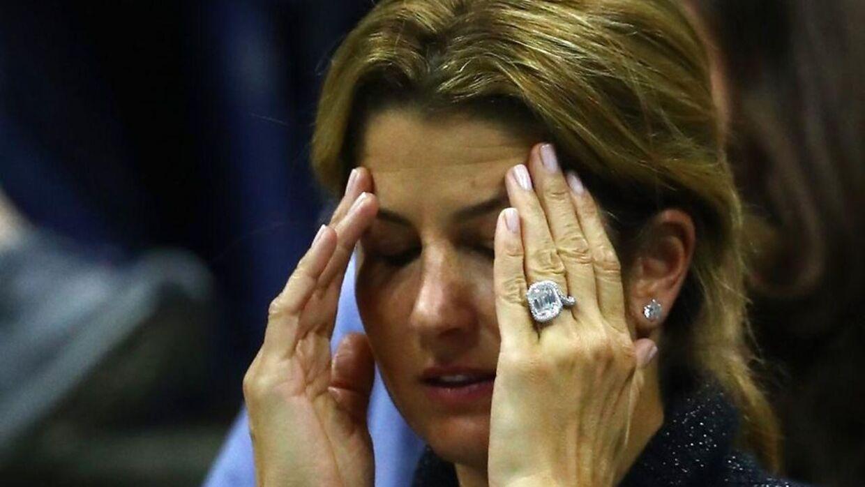 Roger Federers kone, Mirka, er kommet i fokus for at pifte.