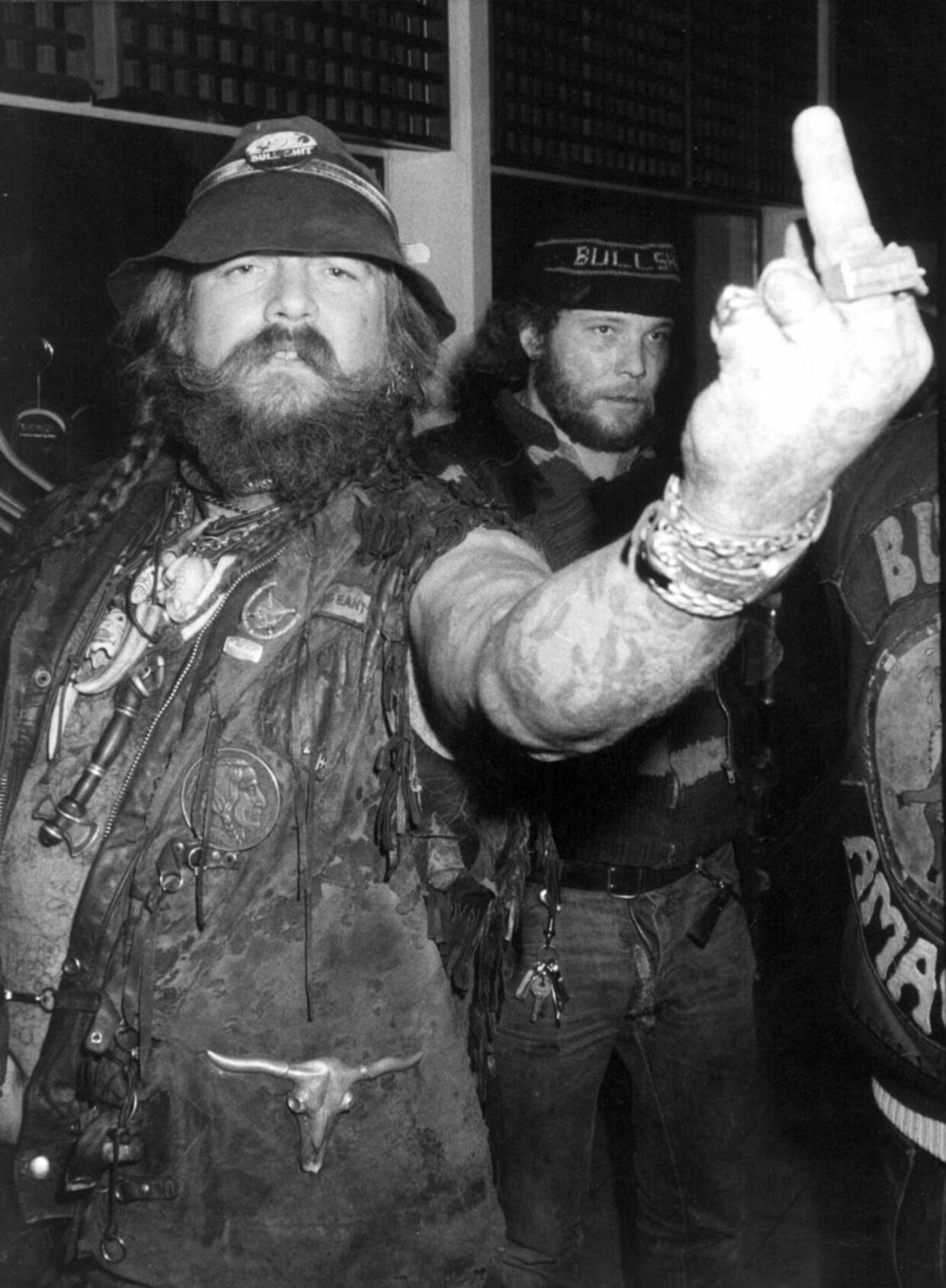 Bullshit-rockeren Anker Walter Markus alias Høvding.