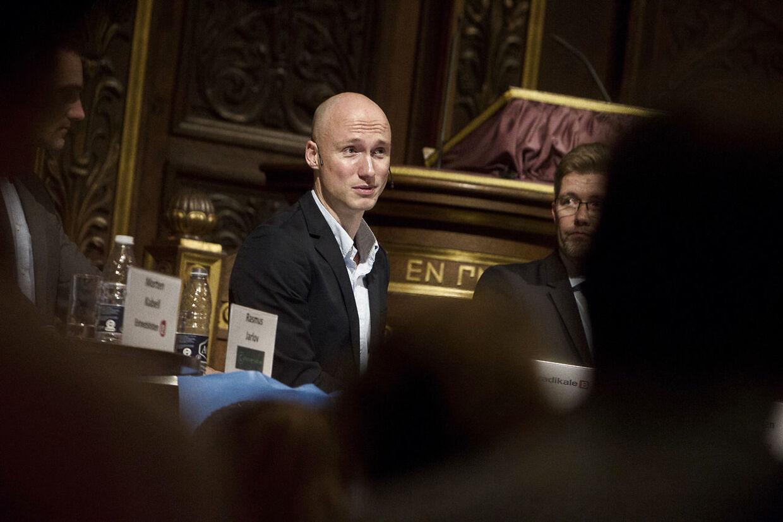 Den radikale gruppeformand i København, Tommy Petersen, bliver ny politisk leder for partiet i København. (Foto: Kasper Palsnov/Scanpix 2013)