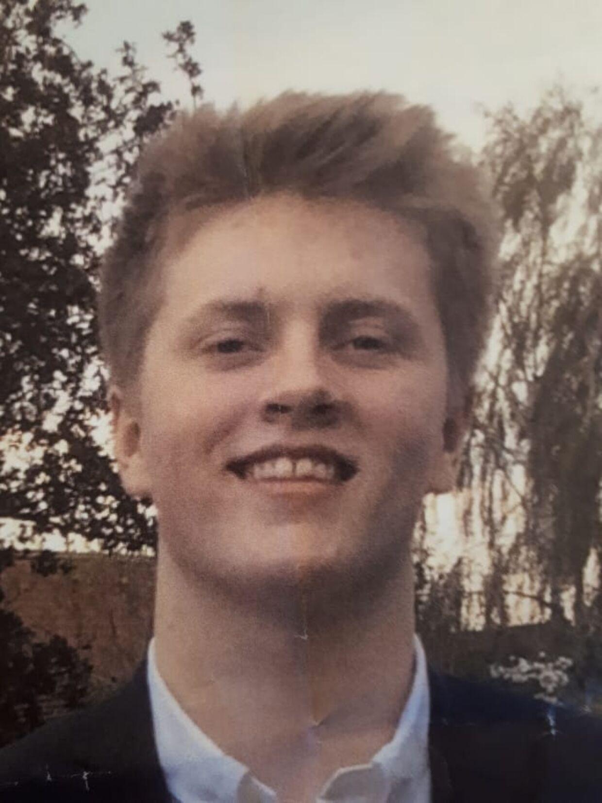 20-årige Holger.
